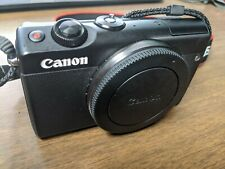 Canon EOS M100 24.2 MP Digital Camera--Black BODY--EXCELLENT CONDITION + CASE