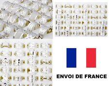 Lot 25 Bagues Métal chromées Revendeur Marché Brocante Palette bijoux FRANCE