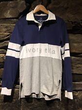 62527d7f34d277 Womens Medium Ivory Ella Rugby Polo Elephant M Shirt