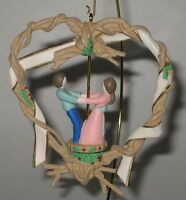 Hallmark Keepsake Ornament Our First Christmas Together 1991 Twirl-About