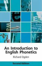 INTRODUCTION TO ENGLISH PHONETICS
