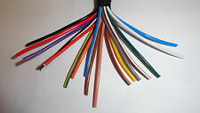 10m of 2mm² 25A thinwall copper wire cable CHOICE OF 33 COLOURS car marine