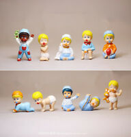 10PCS GIOCHI PREZIOSI Cute mini Doll Baby figure For Barbie Dolls Dollhouse