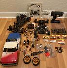 Lot of Vintage RC Car BoLink, Futaba, Blackfoot, Tekin with Accessories & Parts