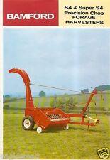 Farm Equipment Brochure - Bamford - Super S4 - Forage Harvester - 1976 (FB855)