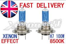 2x H7 100w 8500k mirada Xenon Faros bombillas fantástico Blanco tinte azul luz