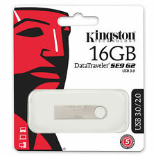 Kingston 16GB DataTraveler SE9 G2 USB 3.0 Flash Pen Drive Memory Stick Key Thumb