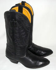 5.5 C women's NOCONA Western Riding Motorcycle Boots - made in USA - all Leather