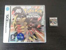 Juego Pokemon Edición Platino Nintendo DS