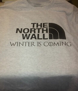 Game Of Thrones Winter is Coming T Shirt Great Christmas Or Birthday Gift