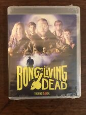 BONG OF THE LIVING DEAD BLU RAY DVD COMBO 2018 BRAND NEW Zombie Horror Comedy