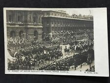 Vintage Postcard - RP Royalty #27 - Escort Of Indian Cavalry & Royal Horseguards