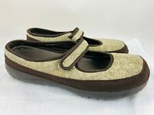 Woolrich Women's Brown Mary Jane Size 9 Slip On Mules Casual Comfort Shoes