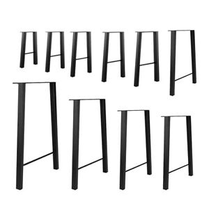 "set of 2 16"" - 40"" Industry Table Leg Metal Steel Bar Coffee Legs DIY furniture"