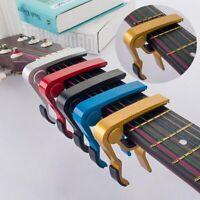 QuickChange Clamp Key Capo Aluminum Alloy For Acoustic Electric Classic Guitar s