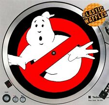 "Ghostbuster #1 1980's Slipmat Turntable 12"" Record Player DJ Audiophile"