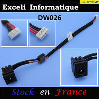 Power jack dc socket connecteurs Toshiba Satellite A200 A205 A215 L350 câble E46