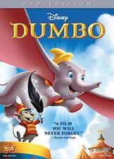 Inspiring Disney Classic Animated Masterpiece Dumbo DVD English French Spanish