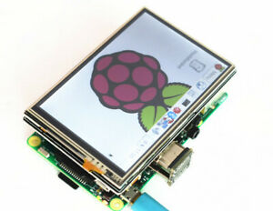 New 3.5'' LCD Touch Screen Display USB HDMI RGB For Raspberry Pi 3B+ 3B