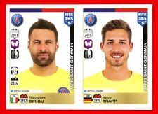 FIFA 365 2015-16 PANINI 2016 -Figurina Stiker- n. 432/433 - PSG -New
