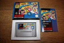 Jeu Super Bomberman Super Nintendo SNES en boite complet