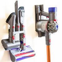For Dyson-V7 V8 V10 Absolut Vacuum Brush Wall Mount Storage Rack Holder Tool