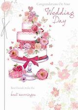 Jour de Mariage Carte - Félicitations le Votre - Porte Bonheur (C84)