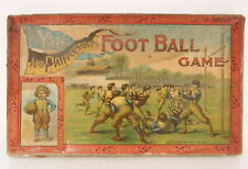 Rare Vtg McLoughlin Brothers Yale and Princeton Football Game Playing Field Box