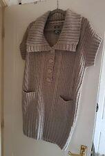 Ladies Cream Short Sleeved Cardigan. Medium. BNWT from NEXT