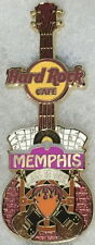 "Hard Rock Cafe MEMPHIS 2010 City Tee Guitar V8 PIN ""ALL IS ONE"" PIN - HRC #55864"