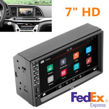 """7"""" HD 2DIN Touch Screen Car Stereo MP5 Bluetooth USB TF FM Player+Remote Control"""