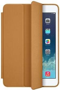 Genuine Apple iPad Mini Leather Smart Case - Colour: Tan - for iPad Mini 1 2 3