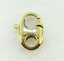 Lock (made in Italy) 14K Yellow Gold Lobster