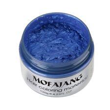 Japanese Unisex DIY Hair Color Wax Mud Dye Cream Temporary Modeling 6 Colors