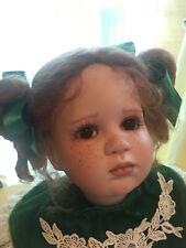 "CHRISTMAS HANNAH, Virginia Turner Original Porcelain 24""  w/extra dress!"