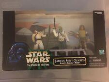 Star Wars POTF Jabba's Skiff Guards Playset MIB