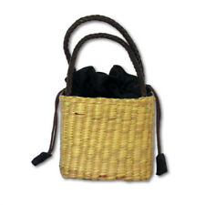 Mouse over image to zoom Handwoven-Straw-Tote-Purse-Bag-Leather-Handles-Summer-