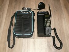 Vintage Nokia Talkman 620 TMX-1T Mobile Phone ~ With Carry Case / AC Adapter