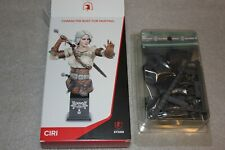 Witcher III Ciri A Bust To Paint  Figurine NEW