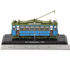 Atlas 1/87 A2.2 Rathgeber 1901 Tram Bus Model Diecast Vehicle Toys Collection