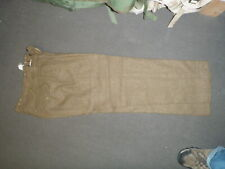 British Army brown wool pants battle dress trousers P49 size 7