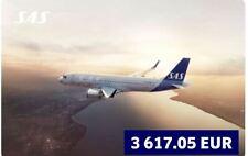 SAS Fluggutschein Airline Flug Gutschein in Höhe von 3617,05€