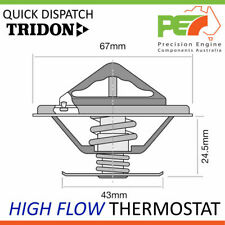 * TRIDON * High Flow Thermostat For Mercedes Benz 200 230 Inc. S & SL