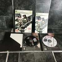 Kane and Lynch: Dead Men Limited Edition Microsoft Xbox 360 - PAL Complete
