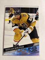 Keegan Kolesar Young Guns 2020-21 Upper Deck #477 Vegas Golden Knights Rookie RC