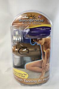 Idea Village SALON BRONZE Airbrush Tanning System As Seen on TV New & Sealed