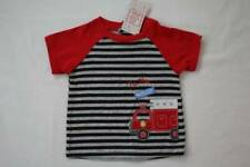 Boys BABY SHOWER LOT Sleepers T-Shirts Socks Hats FIRE RESCUE HERO Red Gray NB