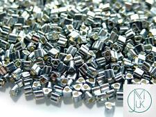 250g 565 Galvanized Blue Slate Toho Triangle Seed Beads 8/0 3mm WHOLESALE