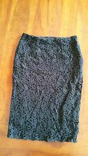Target Lace detail lined skirt sz6 BNWOT free post D72