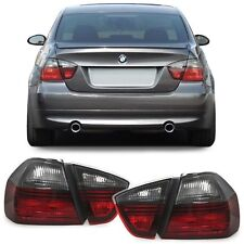 SMOKED BLACK LINE REAR TAIL LIGHTS FOR BMW E90 3 SERIES 12/2004-08/2008 E90BKSED